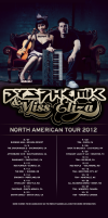 news from the North American tour of Dysphemic & Miss Eliza