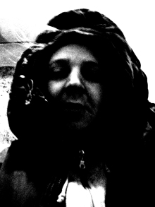 Kamistry Profile Shot bw