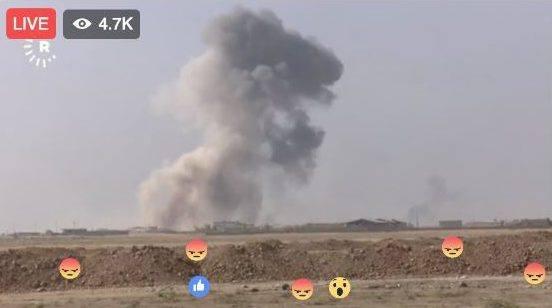 mosul facebook live
